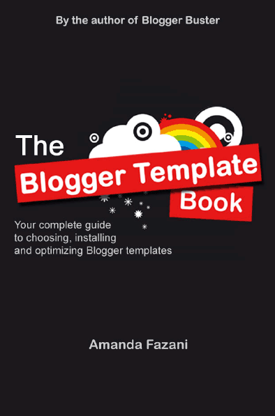 Blogger Template Book