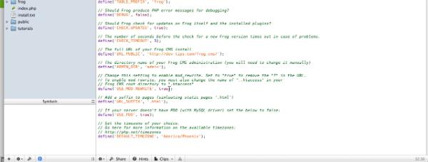 Mod rewrite screenshot