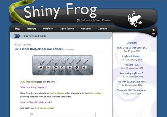 shiny-frog-droplets