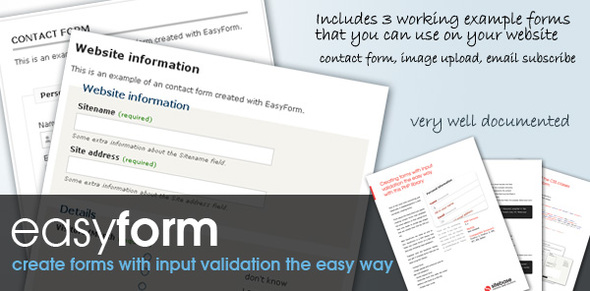 Easy Forms by Sitebase