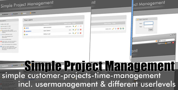 SPM - Simple Project Manager by themac