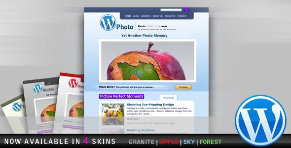 WP-Photo - Beautiful Photo Blog