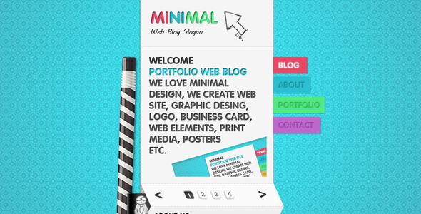 Mini Portfolio Theme