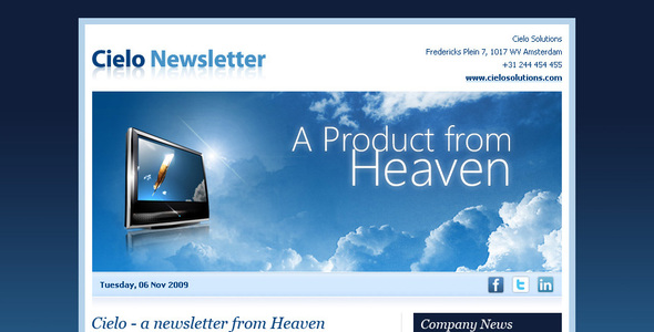 Cielo Newsletter