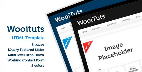 WooiTuts - community theme (html version)
