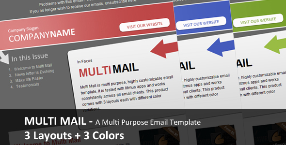 MultiMail - Multi Purpose Highly Customizable