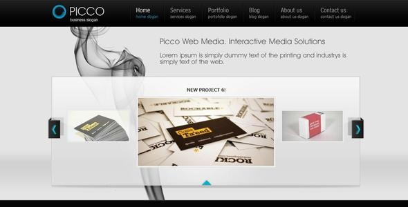 Picco Wordpress Portfolio and Blog
