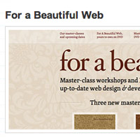 Best of CSS Design 2009
