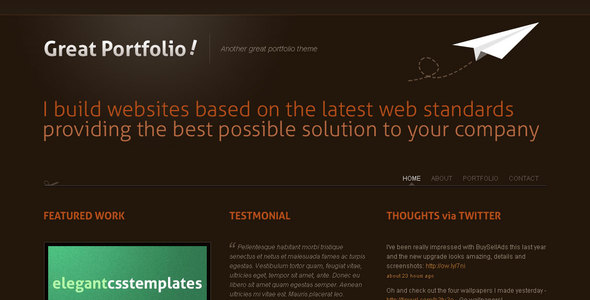 Great Portfolio
