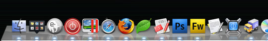 OS X Dock Left