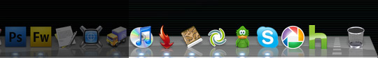 OS X Dock Right