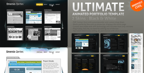 ULTIMATE ANIMATED PORTFOLIO